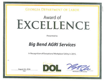 awards and recognition bigbendagri com